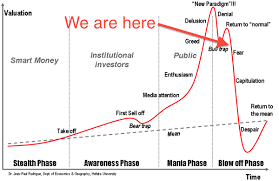 This Is The Bitcoin Bubble Chart It Shows Various Stages In Formation Of A Bubbles Are Same Whether Stock Market